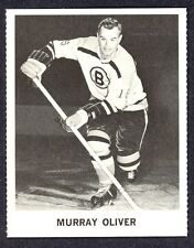 1965 COCA-COLA COKE  MURRAY OLIVER EX-NM BOSTON BRUINS  HOCKEY CARD