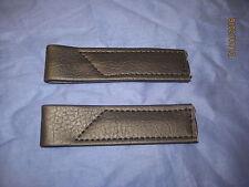 MG BRAND NEW PAIR NAVY MIDGET OR SPRITE  DOOR CHECK STRAPS  BC65