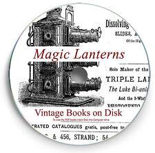 Vintage Rare Magic Lantern Books DVD Glass Antique Slide Projector Scanned 262