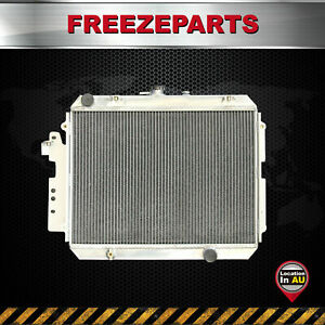 2 Row Aluminum Radiator For Ford Courier Mazda B2200 2600 Manual Only 1982-1991