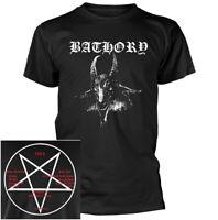 Bathory Goat Head Shirt S M L XL XXL 3XL Black Metal Tshirt Official T-Shirt New