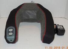 Homedics Neck & Shoulder Massager Vibrator Heat Variable Speeds NMSQ-200