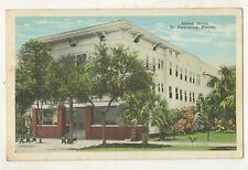 Allison Hotel SAINT ST PETERSBURG FL Vintage Florida Postcard