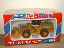 TCM Wheel Loader 800 Series - Shinsei Mini Power Japan 1:50 Box *37060