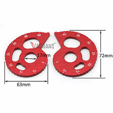 CNC Aluminum Chain Adjuster For YAMAHA TTR250 TW200 TW225 XT225 XT250 Serow