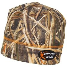 Browning Wicked Wing Carbon Fiber Soft Shell Camo Hunting Beanie Hat - NEW!