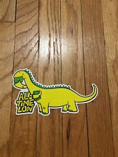 All Time Low Dino Sticker Blink 182 Paramore Green Day Free Shipping