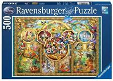 RAVENSBURGER DISNEY JIGSAW PUZZLE DISNEY FAMILY 500 PCS CHARACTERS #14183