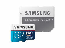 Samsung PRO Select 32GB, Class 10 90MB/s - MicroSDHC Card - MB-MF32GA/AM