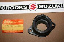 NOS 13110-46910 Rm80 Genuine Suzuki Intake Rubber / Inlet Pipe