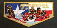 MERGED MIKANAKAWA OA LODGE 101 BSA CIRCLE TEN COUNCIL HURRICANE RELIEF FLAP