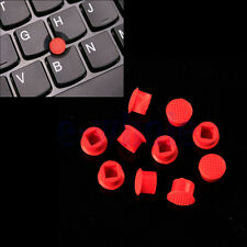 10pcs Rubber Mouse Pointer TrackPoint Red Cap for IBM Thinkpad Laptop WT