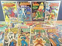 26 MARVEL & DC COMIC Lot 1st Appearances Coast Avengers 45 Transformers 10 X-Men