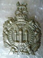 Badge- VINTAGE Kings Own Scottish Borderers Cap Badge QC (WM, Org)