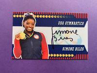 Simone Biles Autograph 3x5 Photo 1/1 Olympic Gymnast HOF Auto USA Gymnastics