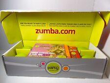 Zumba Fitness Party Body Transformation Set Lot DVDs Toning Sticks Bonus DVDs