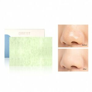30Sheets/pack Green Facial Oil Blotting Sheets Paper Cleansing Face Oil Control