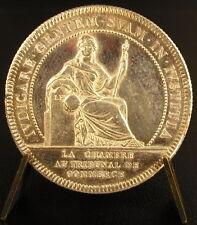 Médaille Jeton argent silver ville de Nantes Chambre tribunal de commerce token