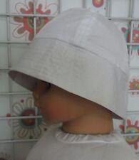 chapeau de soleil garçon/fille 6/9 mois 46 cm NEUF