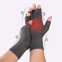 HO_ HN- Arthritis Gloves Compression Joint Finger Pain Relief Hand Wrist Support