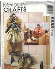 8588 UNCUT McCalls Sewing Pattern Bear Bunny Draftbusters Craft OOP Faye Wine FF