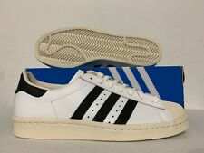 Adidas Originals Superstar 80 s Retro Athletic Shoes White Black Chalk   G61070  947535d15