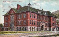 Postcard High School Anaconda Mt