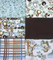 6 FQ Bundle - Woodland Tykes Coordinating Collection Fat Quarter Bundle