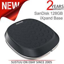 Sandisk 128GB Ixpand Base │ para Iphone/Ipad Cargador & Automático Backup │