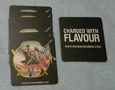 10 Robinsons Trooper Iron Maiden Beer Beer Mats *NEW*
