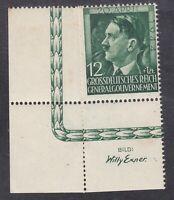 Poland - German Occ - 1944 - 12g + 1z Green - SG469 - Mint (D23J)