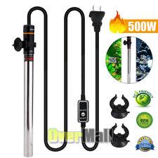 500W LED Digital Aquarium Heater Stainless steel Thermostat Fish Tank Adjustable