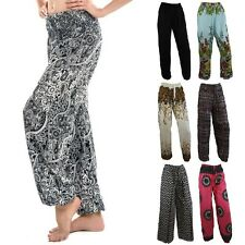 Women Alibaba Harem Pants Ladies Boho Yoga Baggy Trousers Gypsy Hippie Aladdin