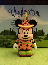 "Disney Vinylmation 3"" Park Set 1 Not So Scary Halloween Witch Minnie Mouse"