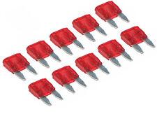 10 Stück 10A Mini kfz Sicherungen Flachsicherung Auto Fuse APM