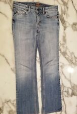 7 Seven For All Mankind Flynt Womens Sz 26 Denim Jeans Light Wash EUC NICE!!!!!!