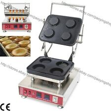 Commercial Nonstick Electric Round Tart Tartlet Pastry Pie Baker Maker Machine