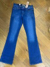 BNWT Levis 715 Women's Boot Cut Mid Rise Slim Through Hip Thigh Jeans 29 x 34
