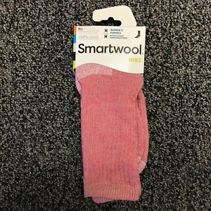 Smartwool PhD Medium Weight Womens Hike Merino Wool Crew Socks - Punch - Medium