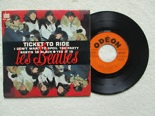 "45T 7"" THE BEATLES ""Ticket to ride"" ODEON SOE 3766 FRANCE #2 §"