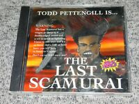 Todd Pettengill Is The Last Scamarai (95.5 WPLJ New York) Rare CD NEW & SEALED