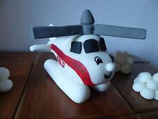 3D Novelty HANDMADE HAROLD THE HELICOPTER / THOMAS CAKE TOPPER/ birthday