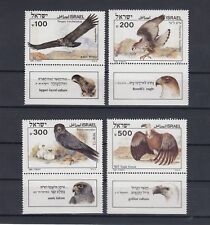 TIMBRE STAMP 4  ISRAEL Y&T#925-28 OISEAU BIRD NEUF**/MNH-MINT 1985 ~A96