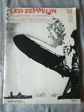 Led Zeppelin Play Along With the Record Warner Bros vintage music book