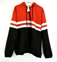 Rue 21 Carbon Women's Large Long Sleeve Full Zip Up Fall/Winter Jacket Red/Black