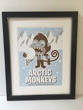 The Arctic Monkeys A3 Concert Poster Framed. Classic Gig Art.