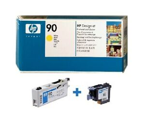 Original HP Druckkopf DesignJet 4000 4020 4500 4520 PS / Nr. 90 C5057A YELLOW