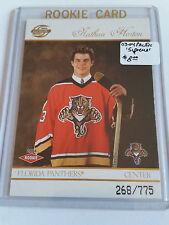 2003-04 Pacific Supreme #118 Nathan Horton RC  268/775 : Florida Panthers