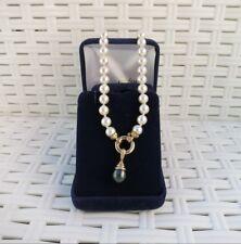 Tour de cou perles naturelles