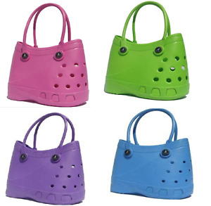 Large Lubber Waterproof Tote Shoulder Bag For Shopping Beach Pool Swimbag Womens